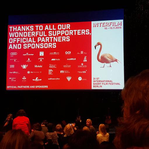 Kultur kurz und gut: interfilm Festival