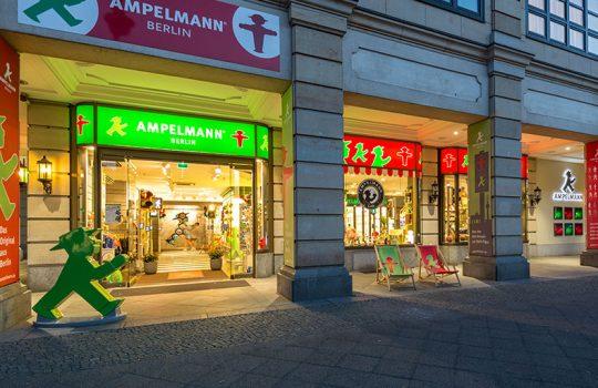 AMPELMANN Berlin Souvenir Shop Unter den Linden