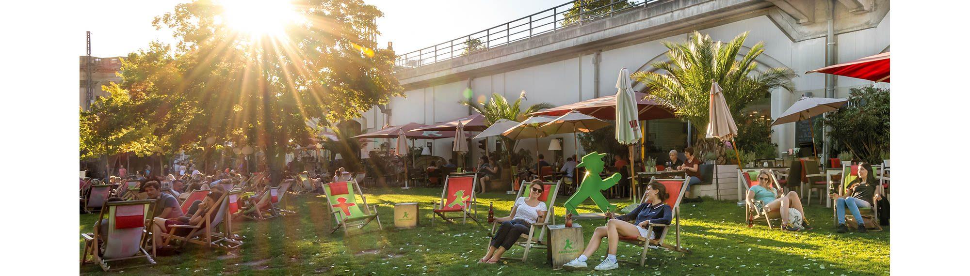 AMPELMANN Strandbar und Restaurant in Berlin Mitte