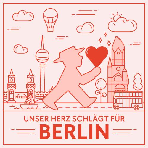 Unser Herz schlägt für Berlin