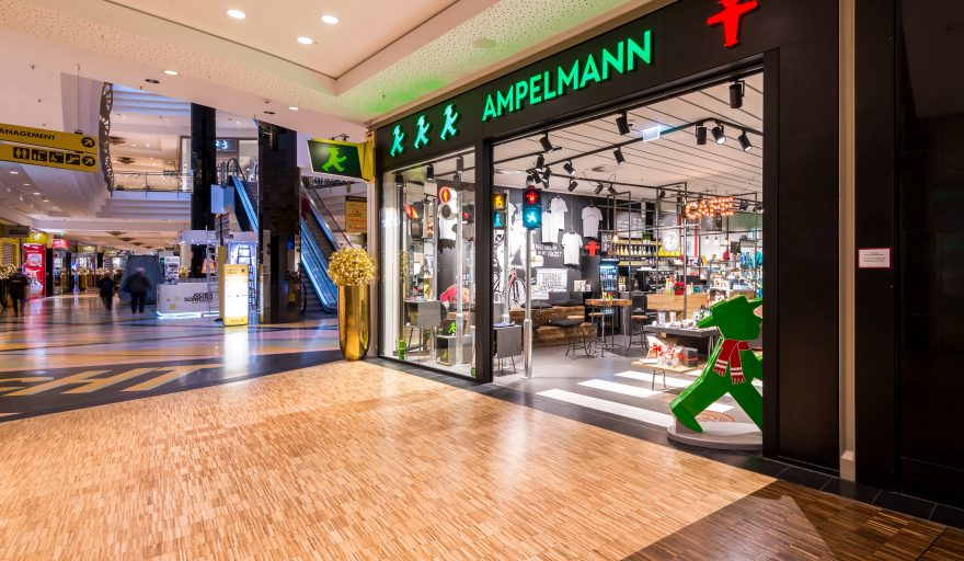AMPELMANN Berlin Souvenir Shop im ALEXA