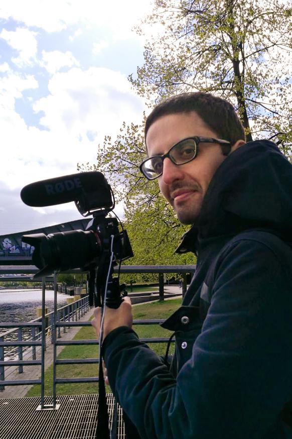 In den Kiez Videos von AMPELMANN Berlin ist Hesam der kreative Kopf hinter der Kamera
