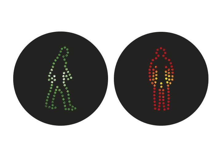 Internationale Ampelmännchen Türkei