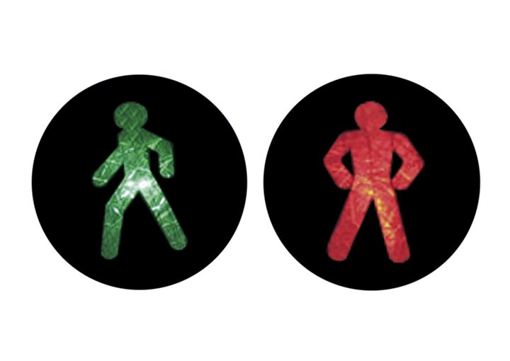 Internationale Ampelmännchen Ukraine