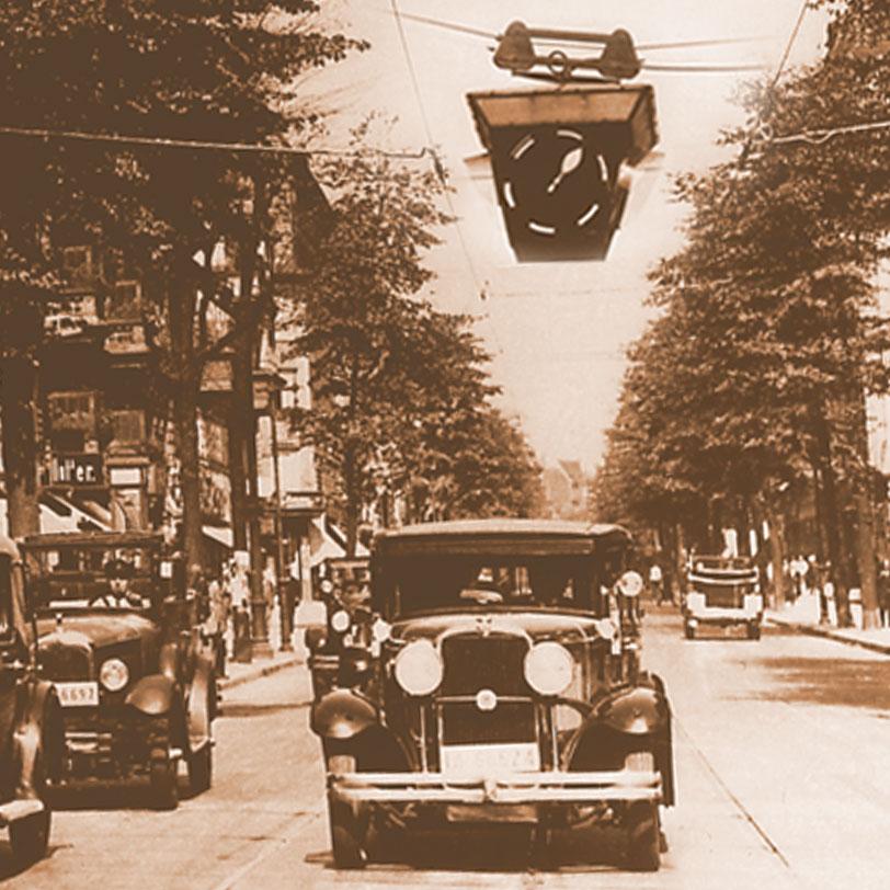 The history of pedestrian crossing lights / AMPELMANN Berlin