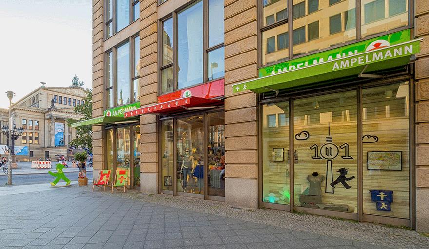 AMPELMANN Berlin Souvenir Shop am Gendarmenmarkt