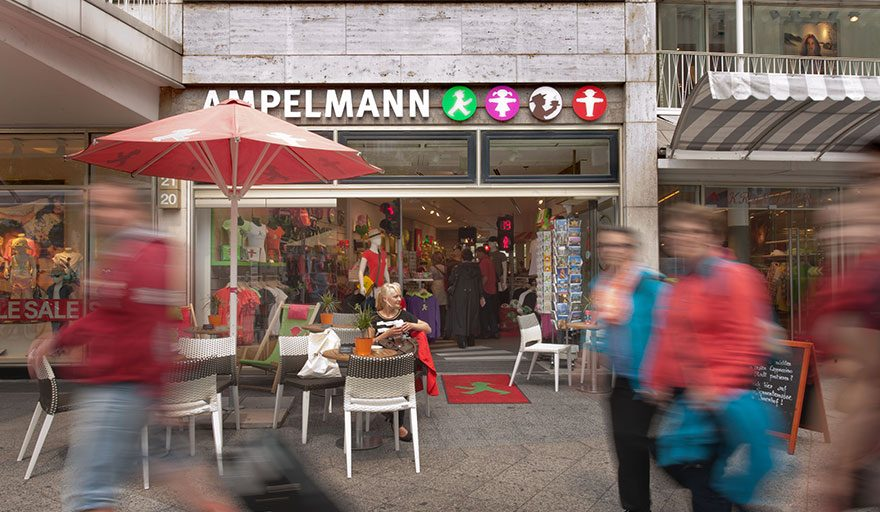 AMPELMANN Berlin Souvenir Shop am Kudamm