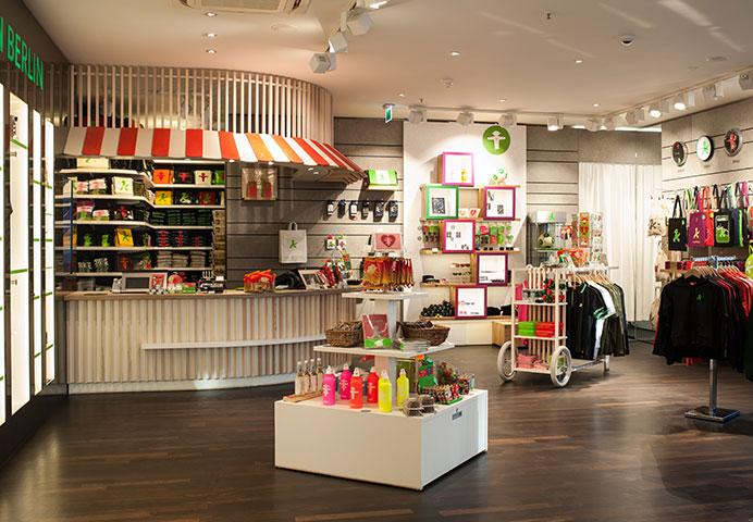 AMPELMANN Berlin Souvenir Shop Unter den Linden - Kassenbereich