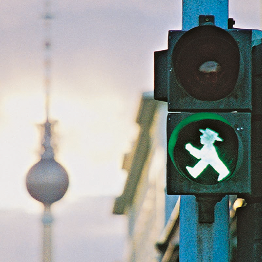 From traffic light to iconic brand