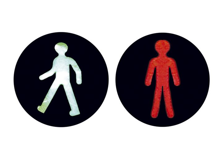 Internationale Ampelmännchen Senegal