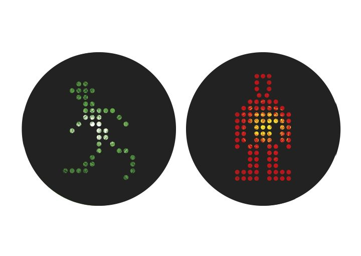 Internationale Ampelmännchen Spanien