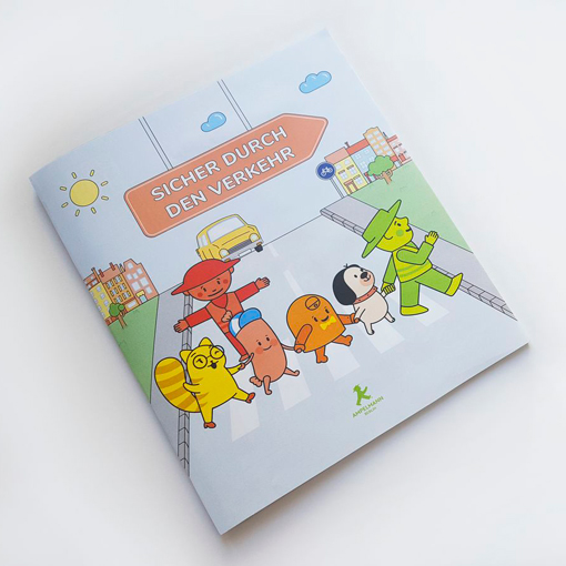 AMPELMANN children's  interactive book