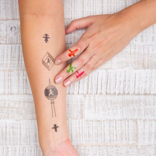 AMPELMANN temporary tattoos